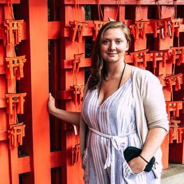 """Hallo, ich bin Saskia. Mein Beruf ist """"Kommunikations-Designerin"""" und meine Leidenschaft ist das Reisen."""