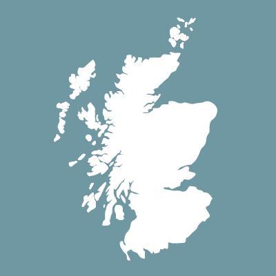 Karte Schottland