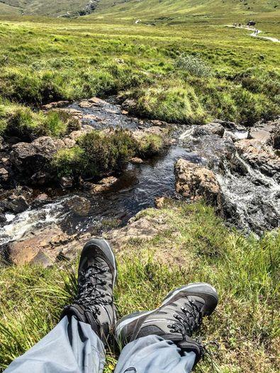 Besuch der Fairy Pools in Schottland