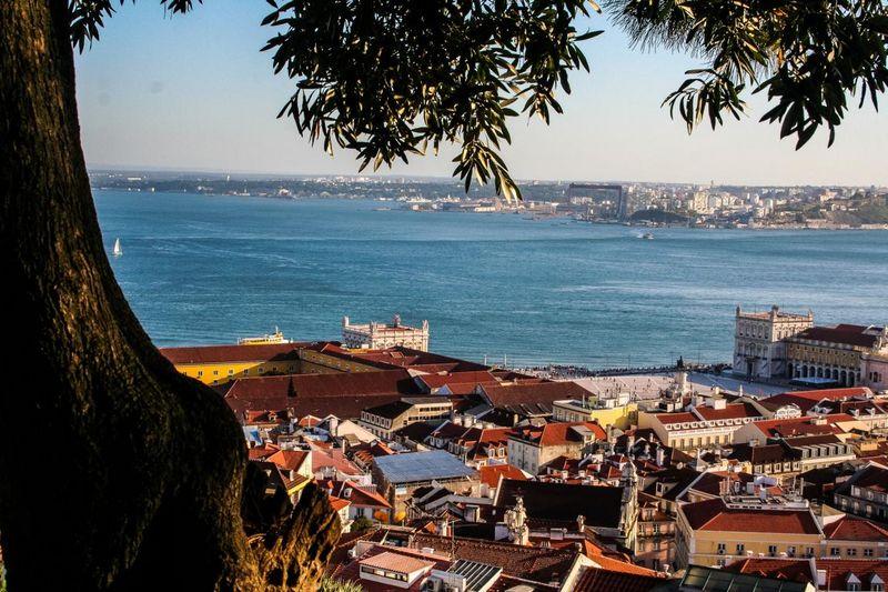Panoramablick auf Lissabon