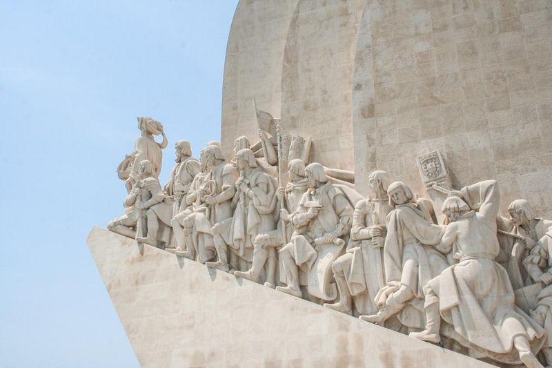 Seefahrerdenkmal am Ufer des Tejo
