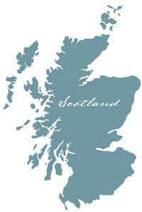Schottland Karte