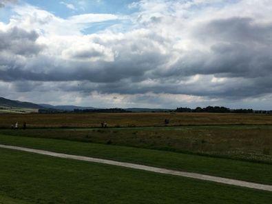 Culloden Battlefield in Schottland