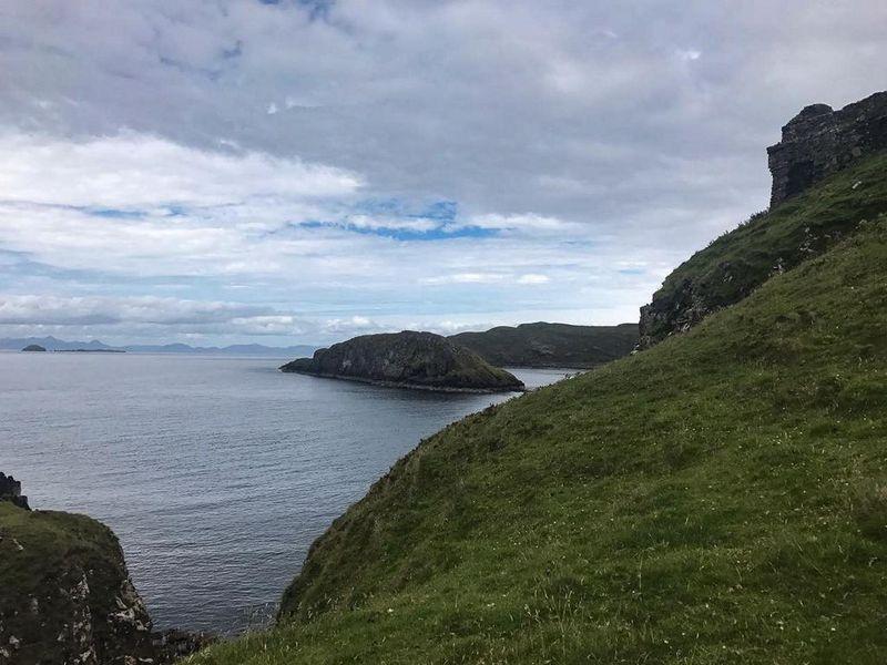 Die raue Küste Schottlands