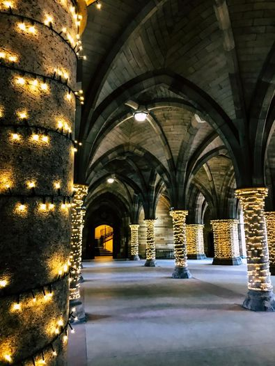 Cloisters in der University of Glasgow
