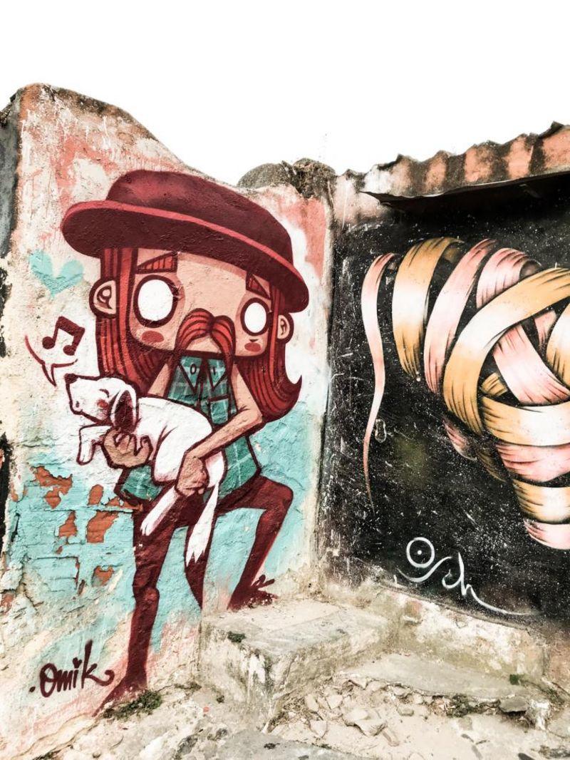 Grafitti in Lissabon