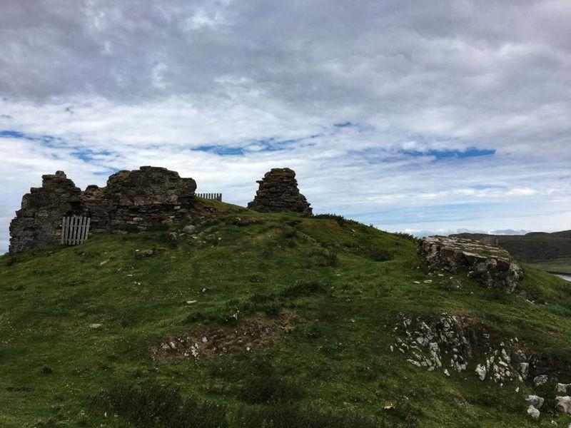 Duntulm Castle eine Burgruine