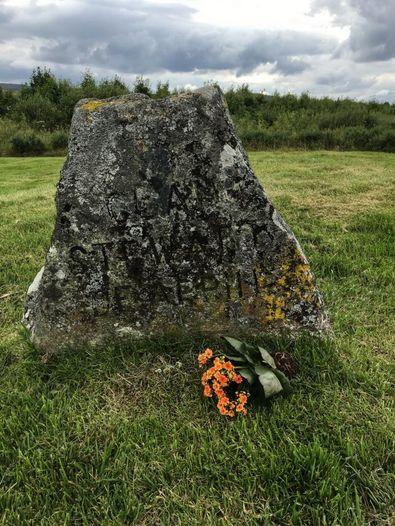 Gedenkstein auf Culloden Battlefield