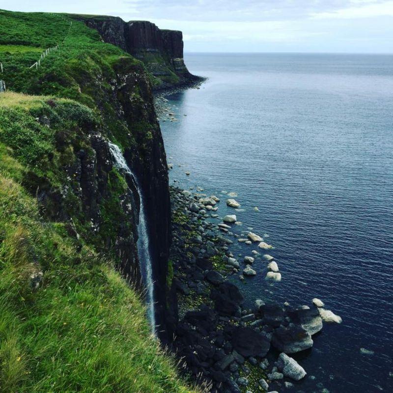 Mealt Fallls und Kilt Rock auf Isle of Skye