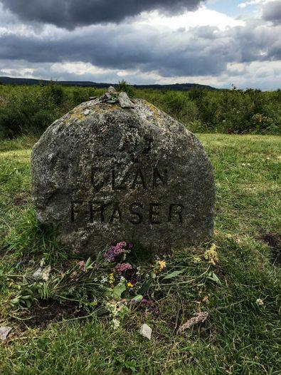 Gedenkstein Clan Fraser