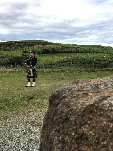 Schotte mit Dudelsack