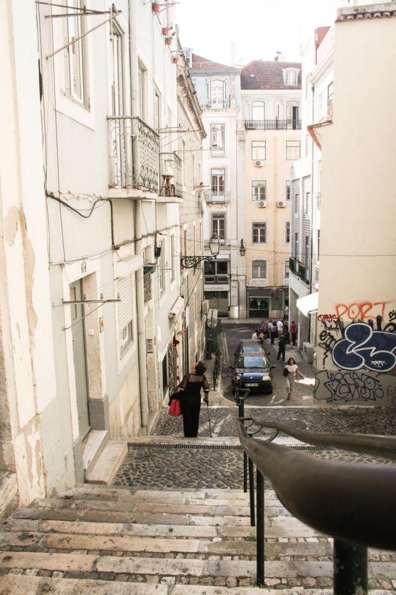 Der Weg in die Baixa