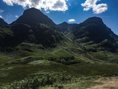 schottische Berge