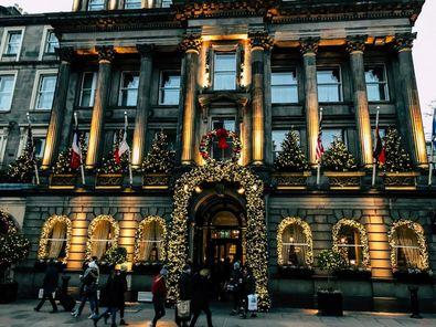 Weihnachten in Edinburgh