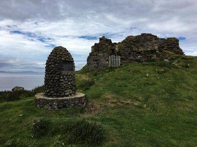 Burgruine auf Isle of Skye